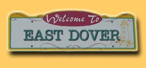 East Dover Road Sign