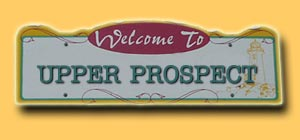 Upper Prospect Road Sign